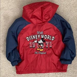 Boys authentic Disney world jacket